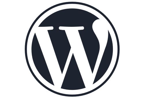 wordpress logo admin panel